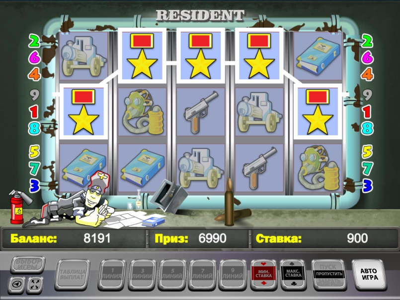 игровой автомат abnormal zone