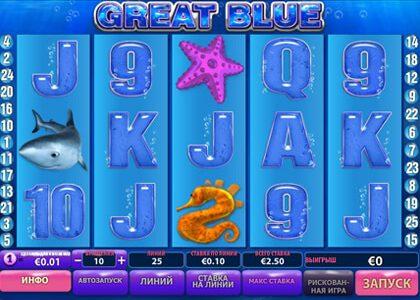 Игра от Playtech - Great Blue (касатка) под ключ
