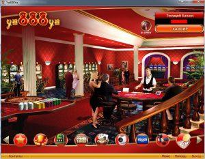 Интерфейс игровой системы Ya888Ya
