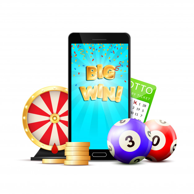 online-lottery-casino-colorful-composition